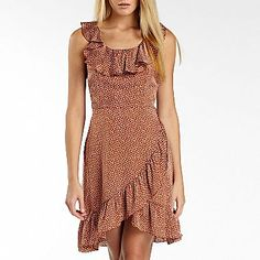I 'Heart Ronson' Ruffle Polka-Dot Dress - jcpenney | $28