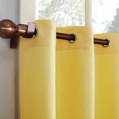 Best Kitchen Curtains of 2021 | CountryCurtains Kitchen Valances, Kitchen Curtain Sets, Tier Curtains, Cafe Curtains, Bathroom Windows, Kitchen Windows, Tie Up Shades, Ocean Home Decor, Lemon Kitchen