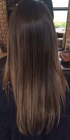 Hair Goals Curly Highlights 56 Ideas Brown Hair With Highlights Curly goals Hair Highlights Ideas Balayage Straight Hair, Brown Hair Balayage, Brown Hair With Highlights, Balayage Highlights, Brown Straight Hair, Ombre Hair Color, Brown Hair Colors, Hairstyles Haircuts, Straight Hairstyles