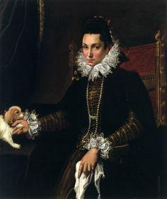Lavinia Fontana, Portrait of Ginevra Aldrovandi Hercolani as Widow 1595-1600 Oil on canvas, 115 x 90 cm Walters Art Museum, Baltimore