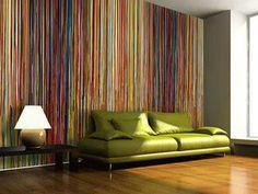 Striped wallpaper FABULOUS!