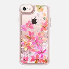 CASETiFY iPhone 7 Glitter case - spring garden by Marianna Iphone 7, Iphone Cases, Glitter Phone Cases, Spring Garden, Tech Accessories, Artists, Artwork, Stuff To Buy, Inspiration