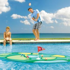Island Golf Pool Game - tropical and golf go nicely together!