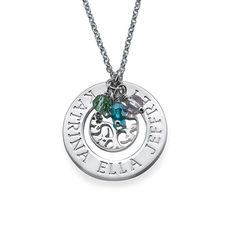 Family Tree of Life Necklace in Sterling Silver | MyNameNecklace