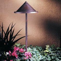 "Arroyo Craftsman Berkeley 1 Light Pathway Light Size: 15.5"" H x 8.38"" W, Finish: Verdigris Patina"