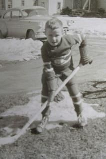 Jean Beliveau when he was young (not sure of the source)