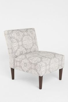 Am feelin' this slipper chair.  Great addition to the living room or bedroom.  Anna Chair - Urban Outfitters