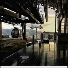 Teleférico del Ávila cortesía de @nsalinas42 #LaCuadraU #GaleriaLCU #Caracas #ElAvila #FelizSabado