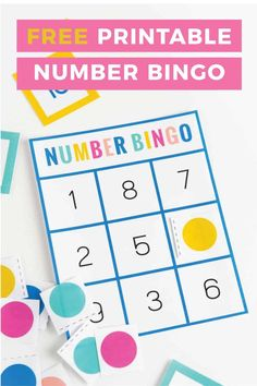 Download this free number bingo set help children learn and recognize numbers. Designed to use a small range of numbers 0-10, these printable bingo cards are perfect for preschool or kindergarten age kids! Bingo Games For Kids, Printable Games For Kids, Bingo Set, Number Games Preschool, Preschool Themes, Preschool Printables, Numbers Kindergarten, Kindergarten Games, Free Printable Bingo Cards