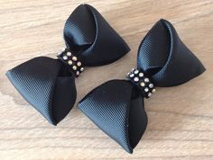 Ribbon Hair Bows, Diy Hair Bows, Diy Bow, Hair Bow Tutorial, Boutique Hair Bows, Diy Hair Accessories, Ribbon Crafts, Girls Bows, Baby Bows