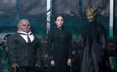 Strax, Jenny Flint, and Madame Vastra - Doctor Who