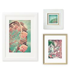 With the exception of creepy clowns, I am drawn to vintage carnival photos and prints. I even loosely based the design of my daughter's nursery off of this theme. Below is a set of 3 wall prints that I put together for anyone interested… All you have to do is click on your desired print(s) …