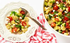 Quick & Easy BLT Pasta Salad & 9 More Perfect Pasta Salads