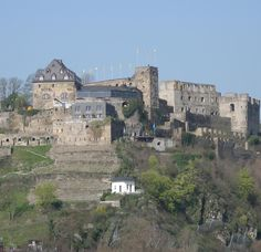 Rheinfels Castle, Sankt Goar, Germany~ Love this castle. You can explore the whole place without a tour.