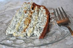 FOUND IT!  Poppy seed torte. Similar to the one I loved as a kid. Mummy's didn't have nuts. Ooooh, can't wait to try it.