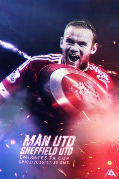 FA Cup: Man Utd  vs Sheffield Utd 15/16 by MaRaYu9.deviantart.com on @DeviantArt