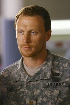 Major Owen Hunt, from Grey's Anatomy