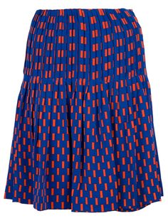 Diane Von Furstenberg Two Tiered Pleated Skirt - Al Duca D'aosta - Farfetch.com