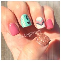 20 Cute Nail Designs You'll Want To Copy Immediately   http://www.meetthebestyou.com/20-cute-nail-designs-youll-want-to-copy-immediately/