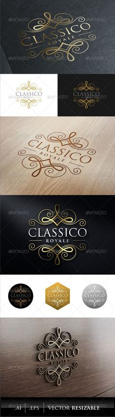 Classic Royal Logo Template #design #logotype Download: http://graphicriver.net/item/classic-royal-logo/7879641?ref=ksioks