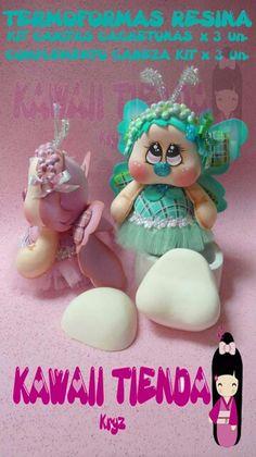 Cachetona Pasta Flexible, Fondant, Polymer Clay, Animation, Dolls, Christmas Ornaments, Holiday Decor, Cute Pets, Ideas