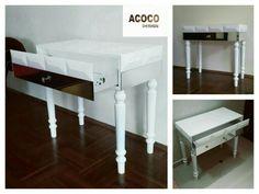 #konsola #białe #biały #komoda #acocostyle #artdeco #nogi #meble