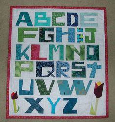 Alphabet Quilt by Lynne - UnRuly Letters