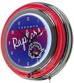 NBA Toronto Raptors Team Logo Wall Clock