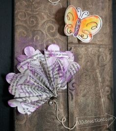 Easy Paper Flowers and Butterflies | AllFreePaperCrafts.com