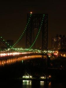 George Washington Bridge celebrates Girl Scouts 100th Anniversary!