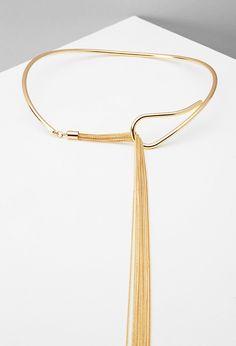 Tassel Collar Necklace | Forever 21 - 1000171895