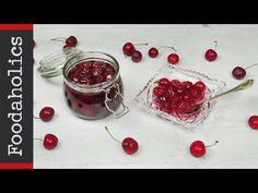 Γλυκό του κουταλιού κεράσι   Foodaholics - YouTube Cherry, Fresh, Vegetables, Recipes, Food, Youtube, Essen, Vegetable Recipes, Eten