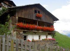 Architettura rurale nelle Dolomiti