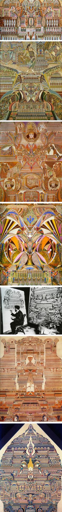 Augustin Lesage. Coal miner turned kaleidoscopic painter.
