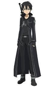 Bilderesultat for Kirito Kirito Sao, Arte Online, Online Art, Jet Black Color, Sword Art Online Kirito, Black Costume, Online Anime, Poses, Animes Wallpapers