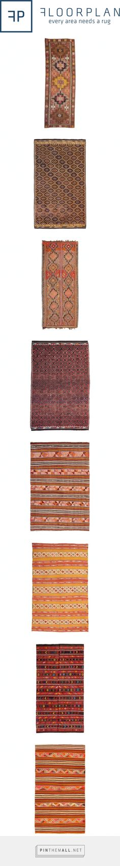 Turkish Kilims with PInk | Floorplan Rugs