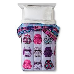 Star Wars® Classic Girl Stormtrooper Comforter Twin - Purple