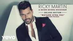 "Official cover audio video by Ricky Martin performing ""Mátame Otra Vez (Acoustic Version (Cover Audio))"". (C) 2015 RM Enterprise. Listen to ""Mátame Otra Vez ..."