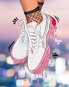 Foto Doodle, Doodle On Photo, Photography Illustration, Photo Illustration, Digital Illustration, Illustrations, Cali Style, Sneaker Art, Draw On Photos