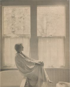 Morning--The Bathroom, Clarence H. White, 1906