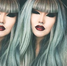 Pin for Later: Get Rainbow Hair Without Ever Touching the Bleach Seafoam Seduction