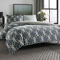 City Scene Brodie Reversible Comforter & Duvet Set #college #dorm #backtoschool