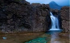 Piscina natural / natural pool  Fairy Pools - Skye - Escocia