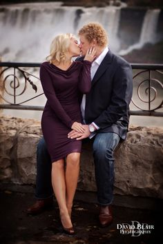 Niagara Falls Engagement Session by Wedding Photographer David Blair » Louisville Wedding Photographer