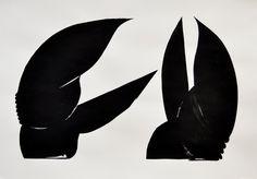 "Mikołaj Moskal, Bez tytułu (z cyklu ""Hands""), 2013 New Roman, Museum Of Modern Art, Color Splash, Graphic Art, Abstract, Artist, Hands, Fictional Characters, Summary"