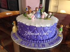Sofia The First Cake Cake Ideas Pinterest Sofia The First Cake Sofia The First And Purple