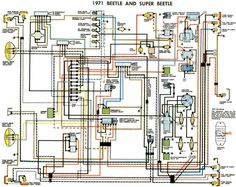 71 vw t3 wiring diagram ruthie pinterest vw volkswagen and engine rh pinterest com 1964 VW Beetle Wiring Diagram vw beetle 1600 wiring diagram pdf