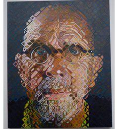 ideas painting portrait ideas chuck close for 2019 Chuck Close Portraits, Portrait Art, Portrait Ideas, Identity Art, Gcse Art, Cool Artwork, Painting Inspiration, Art Pictures, Art History