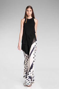 Donna Karan Resort 2014 - Runway Photos - Fashion Week - Runway, Fashion Shows and Collections - Vogue White Fashion, Look Fashion, Urban Fashion, Runway Fashion, Fashion Show, Womens Fashion, Fashion Design, Net Fashion, Travel Fashion