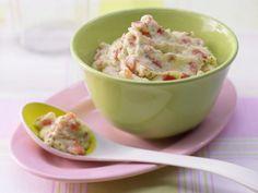 Der Polentabrei mit Pesto stammt aus der italienischen Küche und versorgt Ihr Baby mit viel Kalzium für gesunde Knochen.